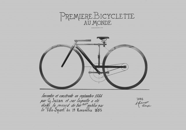 Friday Poster The Old Patent Kite Surf Bike Rambling