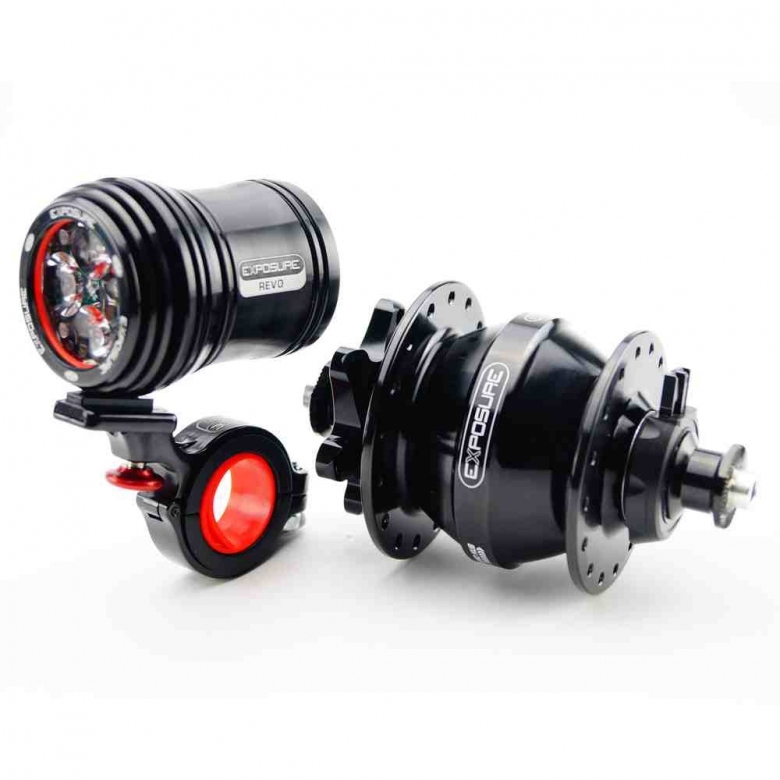 hub and revo light
