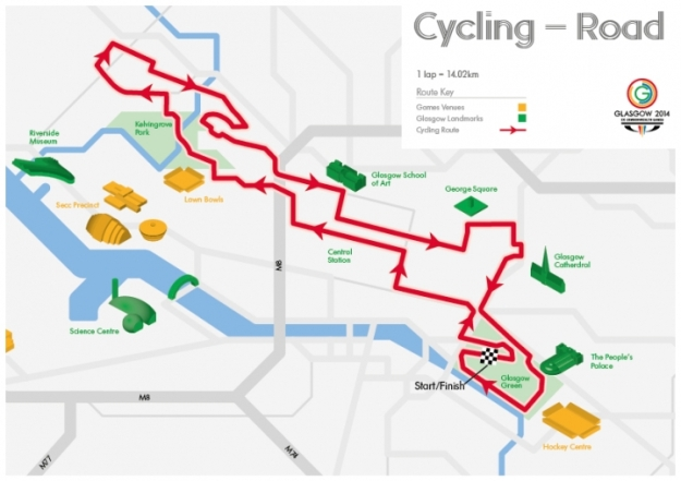Cycling Road Map - Web
