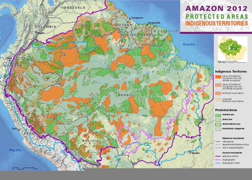 map amazon