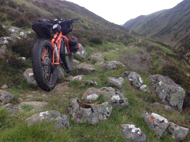 path gets rockier and narrow