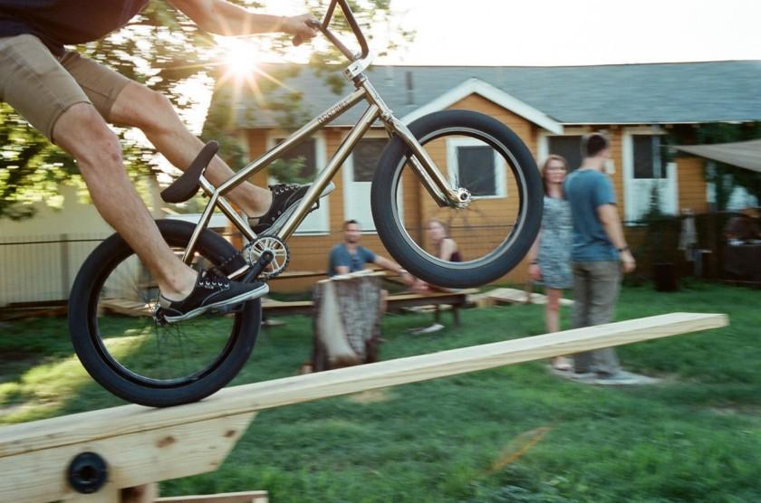 BMX yard party